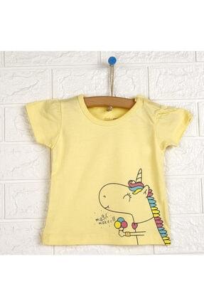 خرید نقدی تیشرت نوزاد دخترانه فانتزی برند HelloBaby رنگ زرد ty113871635
