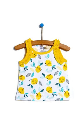 سفارش تیشرت ارزان نوزاد دخترانه برند HelloBaby رنگ زرد ty113871660