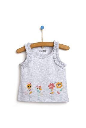فروش تیشرت نوزاد دخترانه شیک و جدید برند HelloBaby رنگ نقره ای کد ty113872637