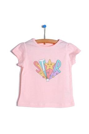 تیشرت نوزاد دخترانه خاص برند HelloBaby رنگ صورتی ty113873242