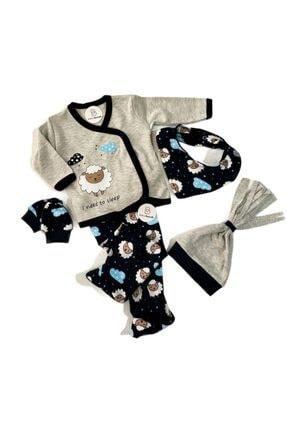 فروش ست لباس نوزاد برند BEBECİBURADA رنگ نقره ای کد ty115610299