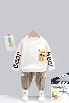 ست لباس نوزاد پسرانه قیمت مناسب برند ADABEBEK کد ty116730245