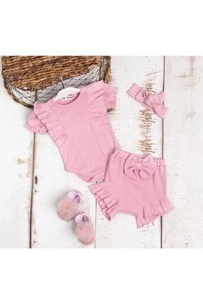 خرید نقدی سرهمی نوزاد دخترانه فانتزی برند Le Mabelle رنگ صورتی ty118163191