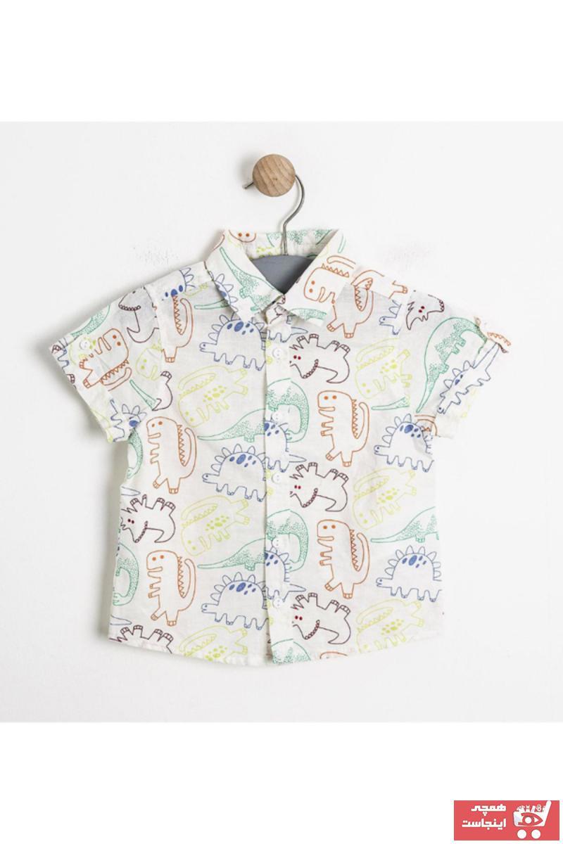ژورنال پیراهن نوزاد پسرانه برند Soobe کد ty1183551
