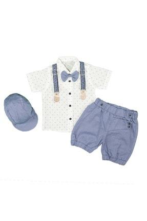 ست لباس خفن برند Babyboy رنگ لاجوردی کد ty118460294