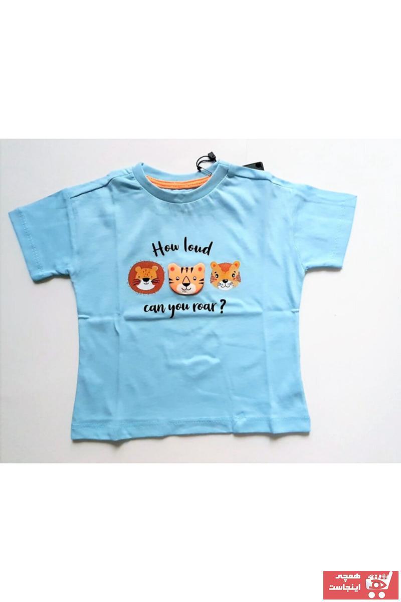 خرید تیشرت نوزاد پسرانه شیک برند Divonette رنگ لاجوردی کد ty118918867