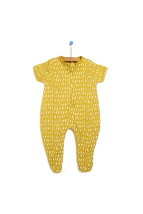 خرید نقدی سرهمی نوزاد دخترانه فروشگاه اینترنتی برند HelloBaby رنگ زرد ty121393839