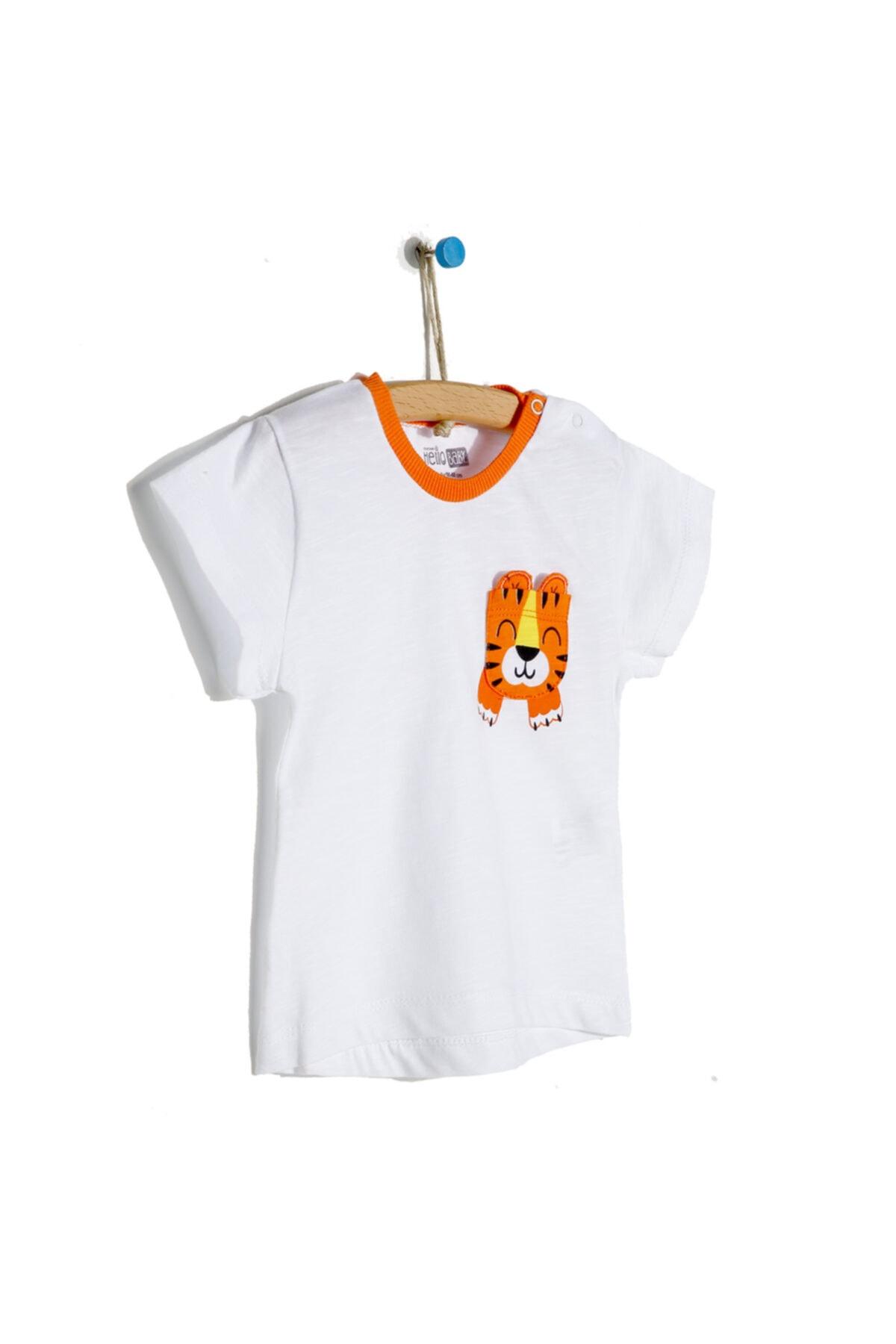 تیشرت نوزاد پسرانه فروش برند HelloBaby کد ty121934140