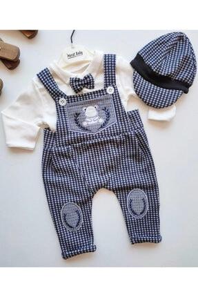 فروش انلاین ست لباس نوزاد پسرانه مجلسی برند sm bebek رنگ لاجوردی کد ty121946429