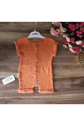 خرید اینترنتی سرهمی خاص نوزاد دخترانه برند Million Baby رنگ نارنجی کد ty122459285