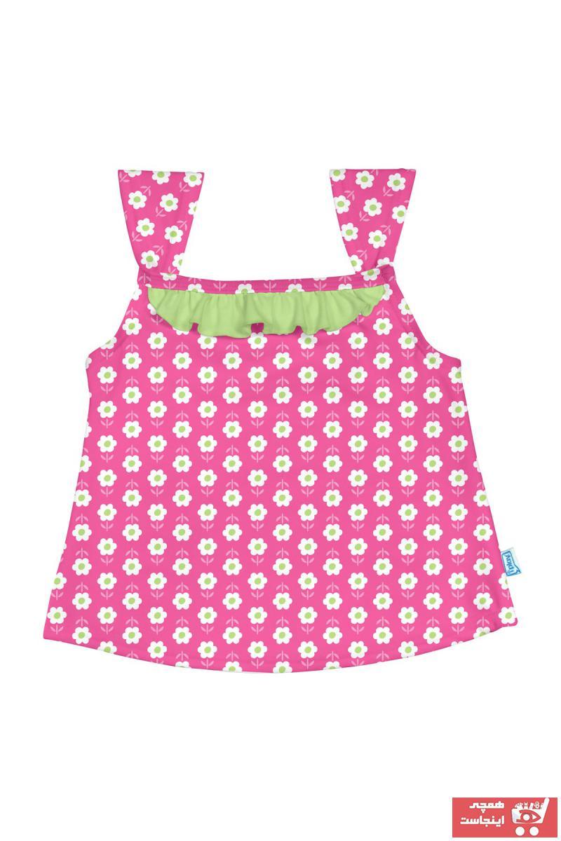 خرید اسان تیشرت نوزاد دخترانه اسپرت جدید برند iplay رنگ صورتی ty2422275