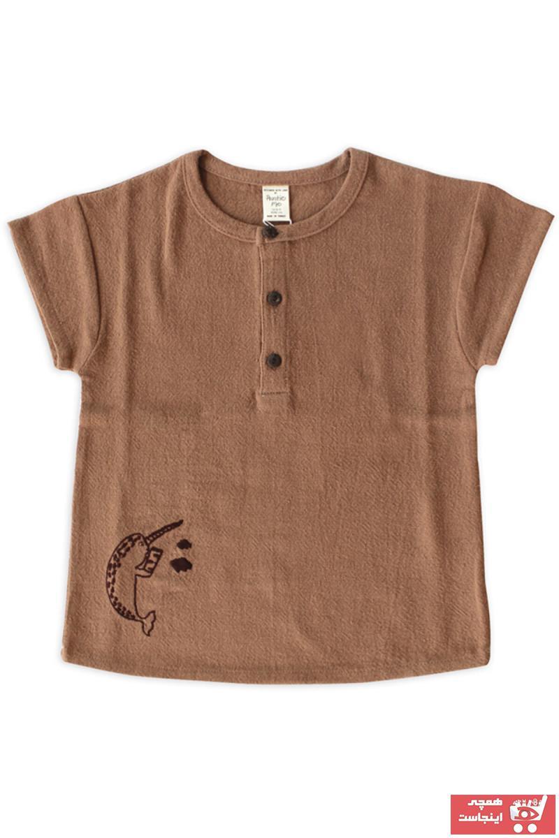 پیراهن خاص برند Auntie Me رنگ قهوه ای کد ty31623813