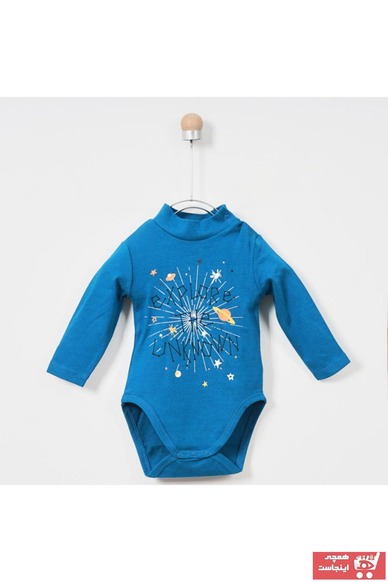 خرید سویشرت نوزاد پسر ترک جدید برند Panço رنگ آبی کد ty31926468