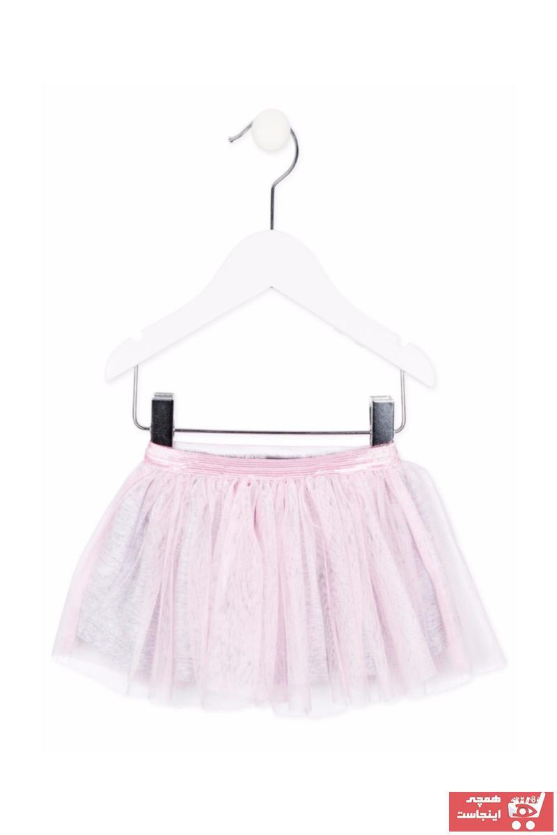 دامن نوزاد دخترانه کوتاه برند LOSAN رنگ صورتی ty32775349