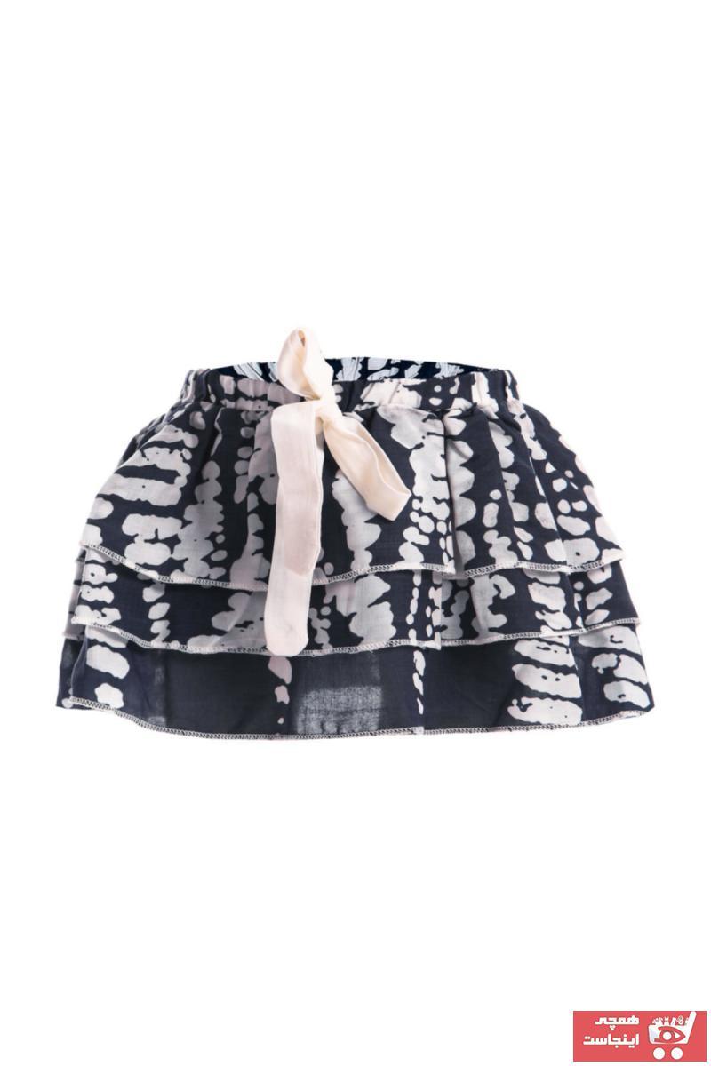 حرید اینترنتی دامن نوزاد دخترانه ارزان برند Shecco Babba رنگ لاجوردی کد ty35130133