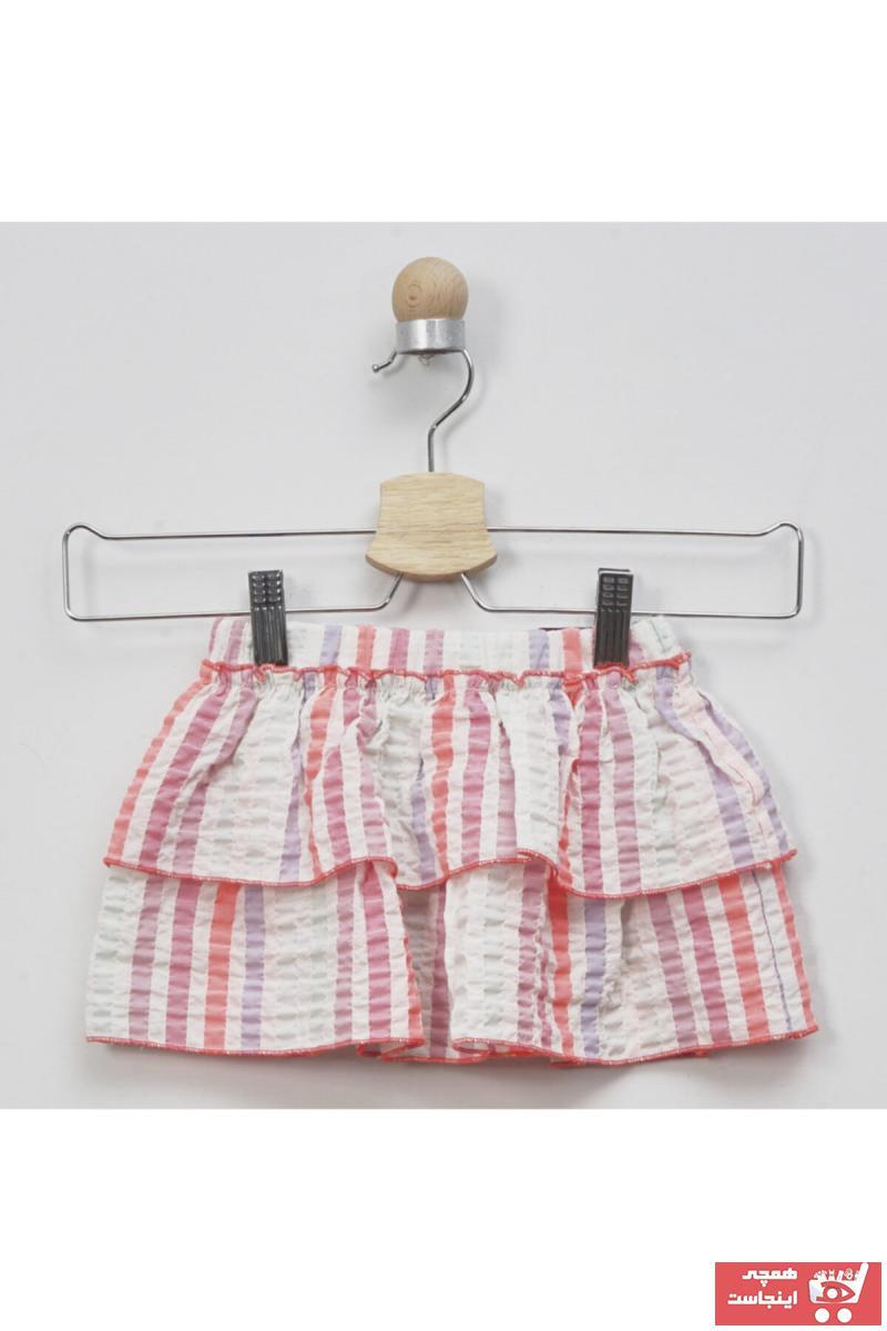 خرید ارزان دامن فانتزی نوزاد دخترانه برند Panço رنگ صورتی ty35854366
