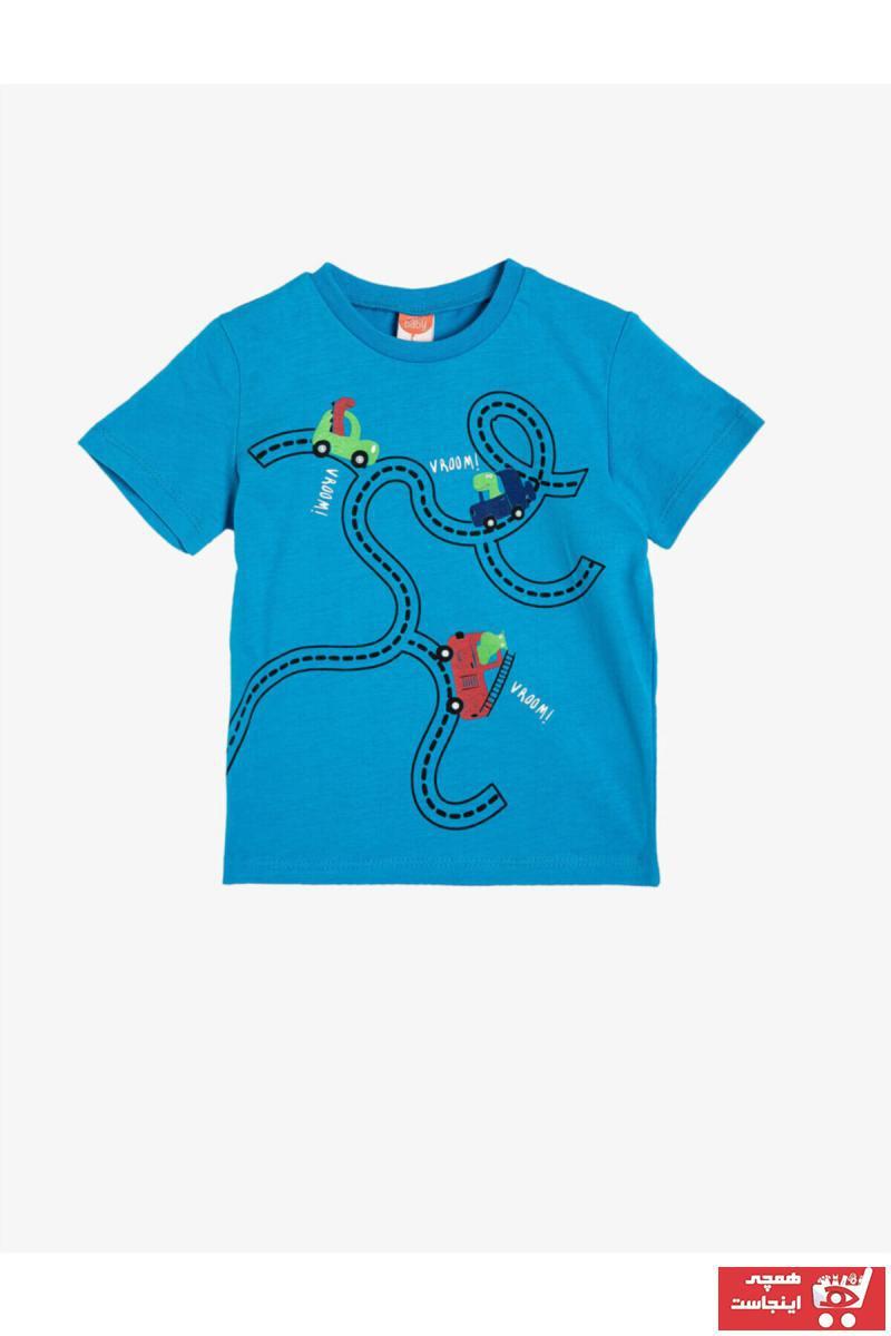تیشرت شیک برند Koton Kids رنگ آبی کد ty37243288