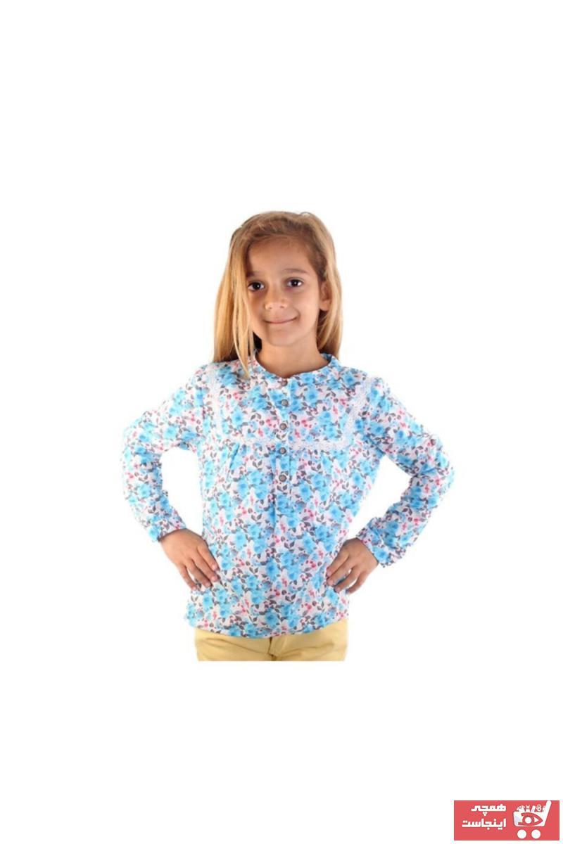 فروش  شومیز نوزاد دختر ترک برند Bani Kids رنگ آبی کد ty38633810
