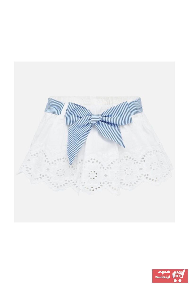 سفارش انلاین دامن نوزاد دخترانه ساده برند MAYORAL کد ty38770631