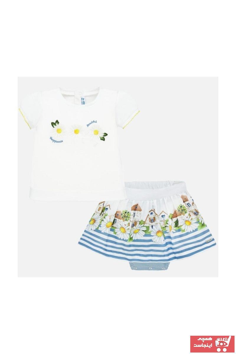 دامن ارزان نوزاد دخترانه برند MAYORAL رنگ لاجوردی کد ty38778283