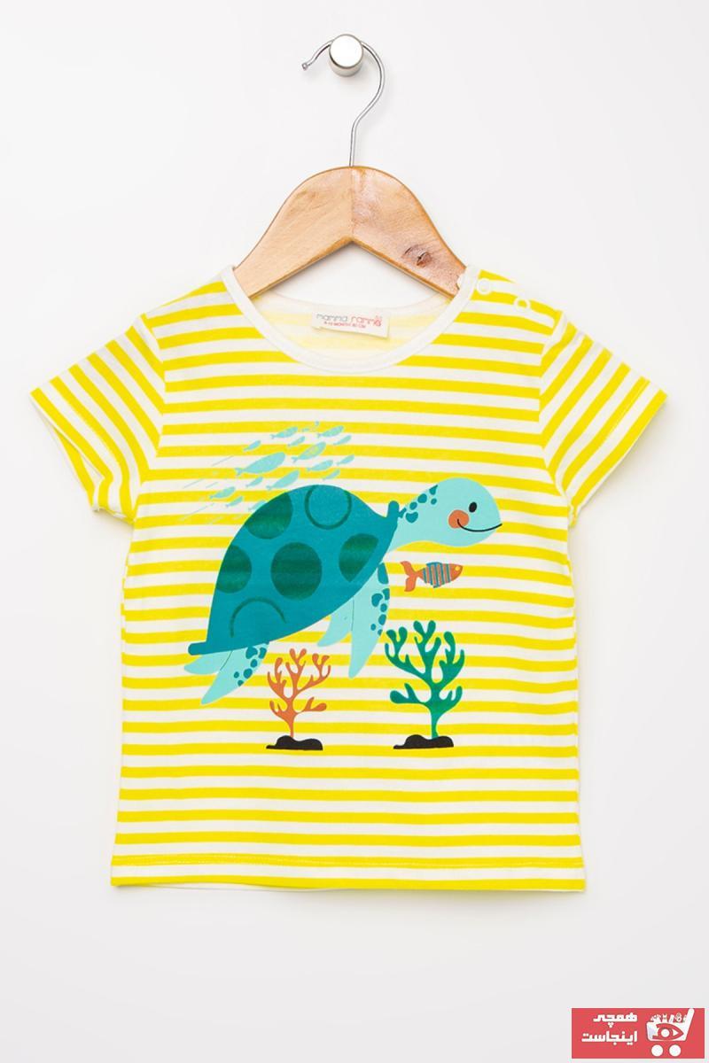 تیشرت نوزاد پسرانه برند Mammaramma رنگ مشکی کد ty39579902