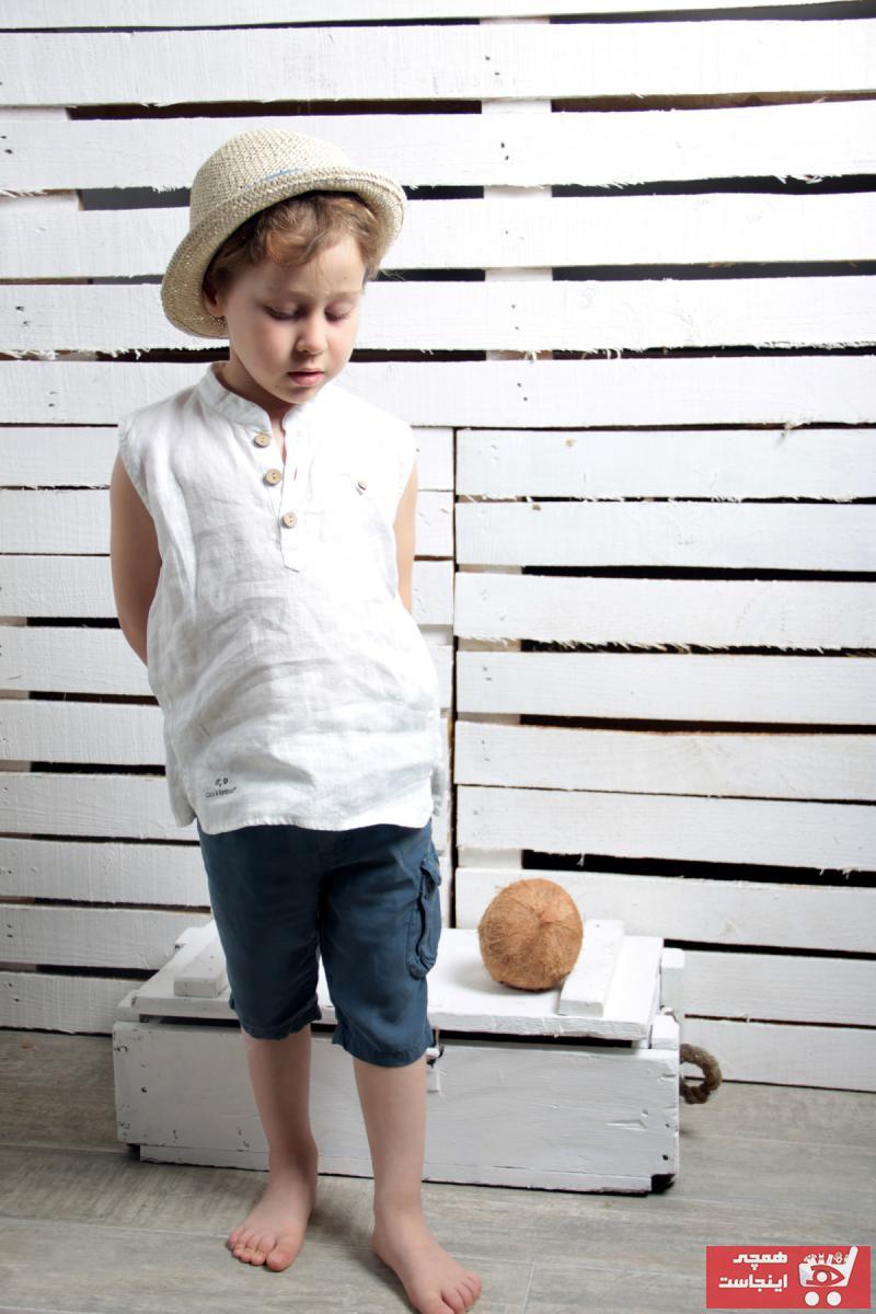 شومیز خاص نوزاد دختر برند Coco & Bamboo رنگ بژ کد ty39611919