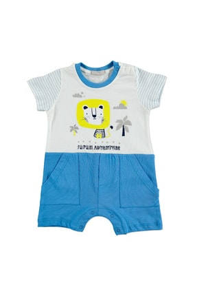 خرید نقدی سرهمی ارزان نوزاد دخترانه برند Bonne رنگ آبی کد ty40589846