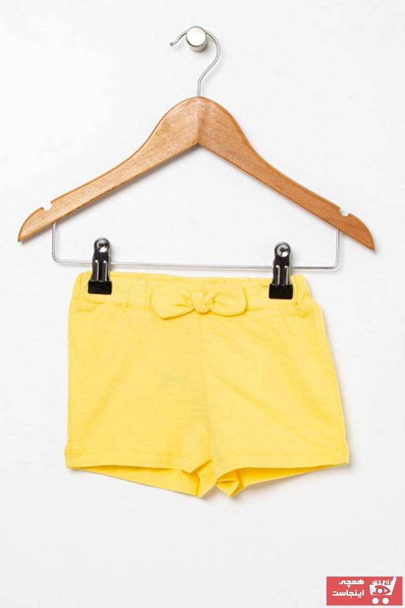 قیمت شلوارک نوزاد دختر برند Mammaramma رنگ زرد ty42035201