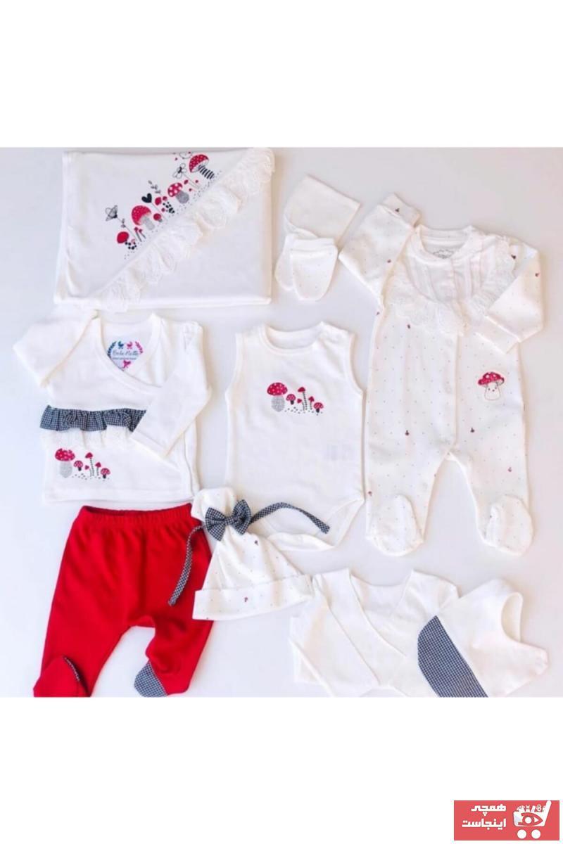 سفارش پستی ست لباس نوزاد برند Tongs رنگ بژ کد ty42447349