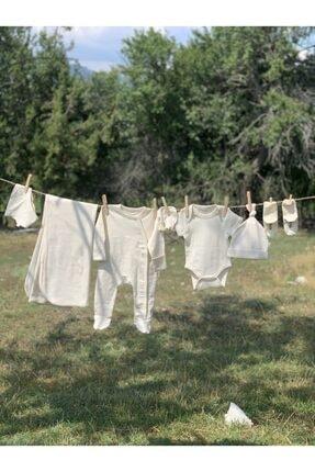 ست لباس بلند برند Naturaborn رنگ بژ کد ty42889475