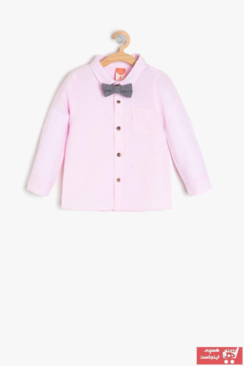 سفارش  پیراهن نوزاد پسرانه برند Koton Kids رنگ صورتی ty4558600