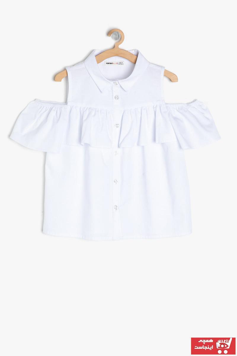 خرید مدل شومیز نوزاد دخترانه برند Koton Kids کد ty4824219