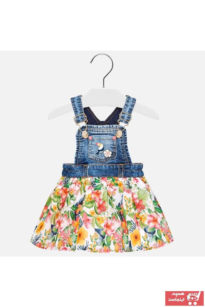 سفارش دامن نوزاد دخترانه ارزان برند MAYORAL رنگ آبی کد ty4968535