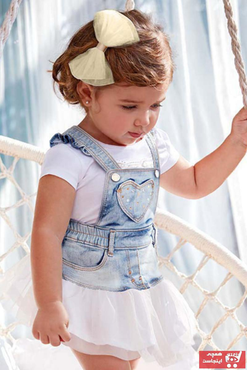 خرید انلاین دامن نوزاد دخترانه ترکیه برند MAYORAL رنگ قرمز ty4968576