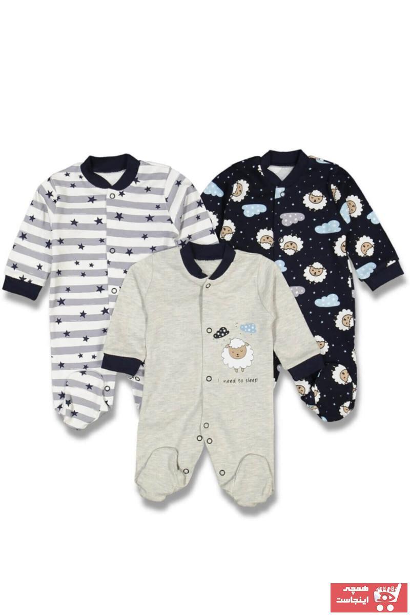 سفارش انلاین سرهمی نوزاد پسرانه ساده برند Necixs رنگ نقره ای کد ty51414378