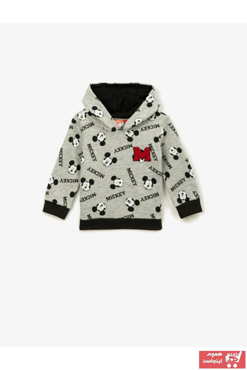 فروشگاه سویشرت نوزاد پسرانه  برند کوتون رنگ نقره ای کد ty58064618