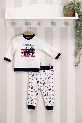 خرید انلاین ست لباس نوزاد پسرانه فانتزی مارک U.S. Polo Assn.برند US Polo رنگ لاجوردی کد ty59284827
