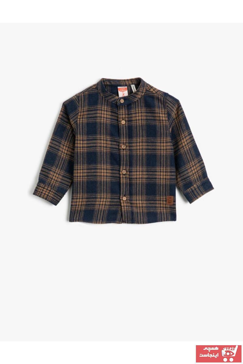 پیراهن جدید برند کوتون رنگ لاجوردی کد ty59319064