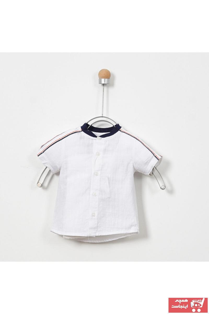 پیراهن نوزاد پسر خفن برند Panço کد ty6332222