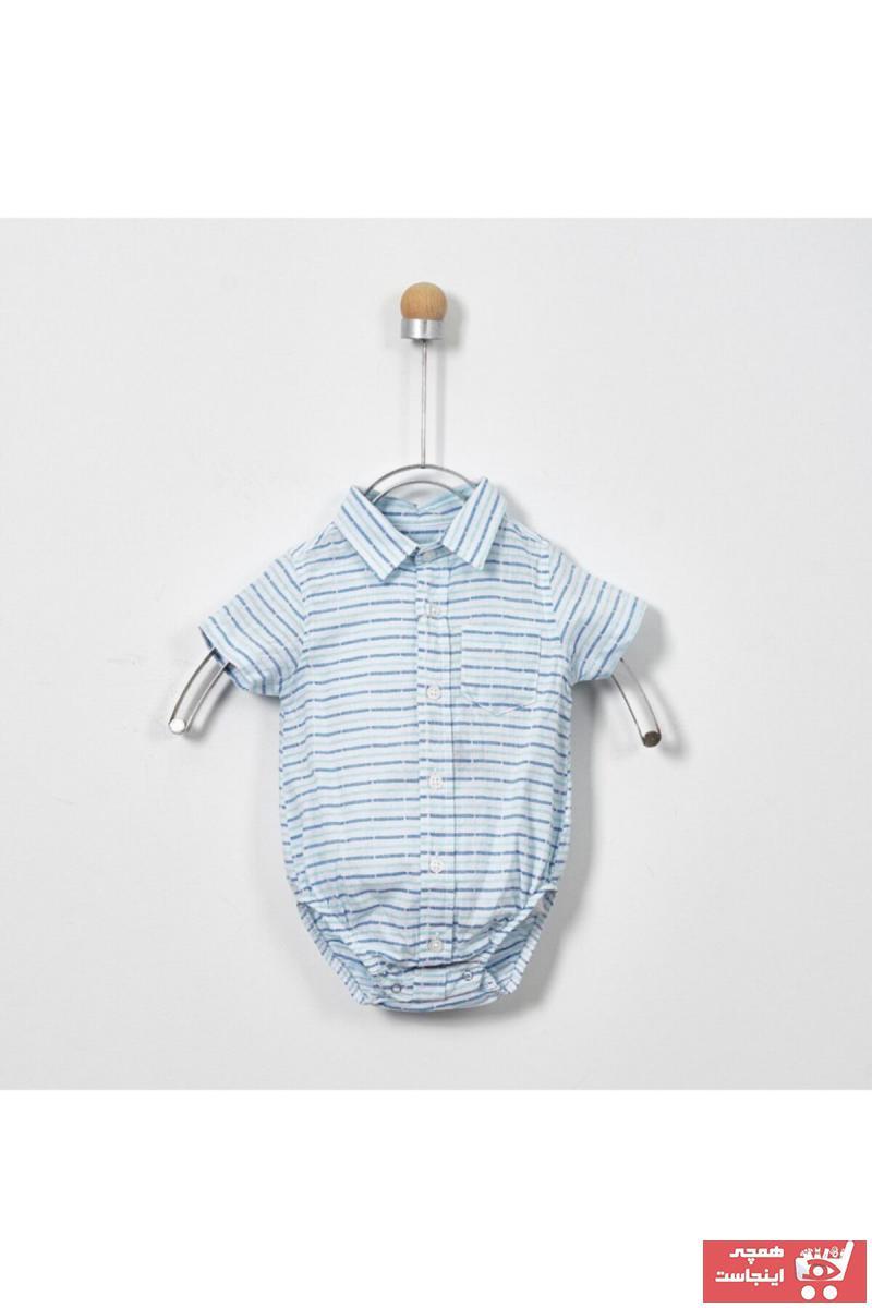خرید ارزان پیراهن فانتزی نوزاد پسر برند Panço کد ty6332224