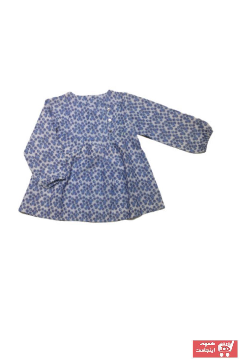خرید اینترنتی پیراهن نوزاد دخترانه فانتزی برند Çikoby رنگ آبی کد ty69017413