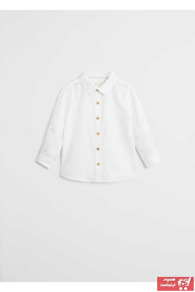 پیراهن نوزاد پسر فروشگاه اینترنتی برند منگو کد ty69596530