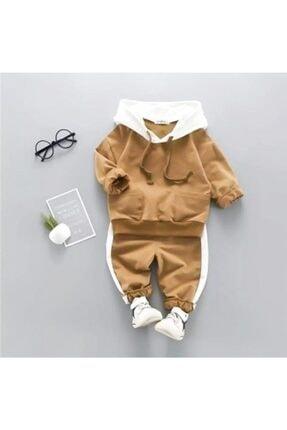 خرید پستی ست لباس نوزاد پسرانه برند Beren Kids رنگ قهوه ای کد ty71598418