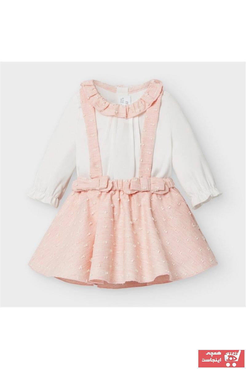 خرید انلاین دامن نوزاد دخترانه ترکیه برند MAYORAL رنگ صورتی ty71636928