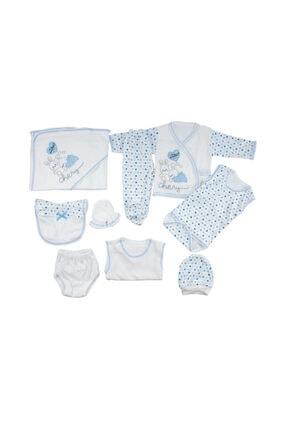 خرید ست لباس 2021 نوزاد برند Mammakid رنگ آبی کد ty75794051