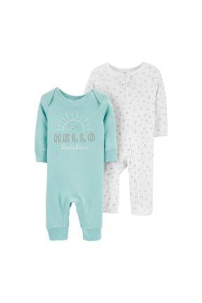 فروش سرهمی نوزاد پسرانه شیک و جدید برند Carters رنگ آبی کد ty79999625