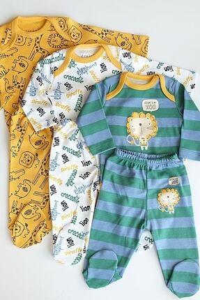 ست لباس نوزاد پسرانه ست برند BabyWorldStore رنگ نارنجی کد ty86948660