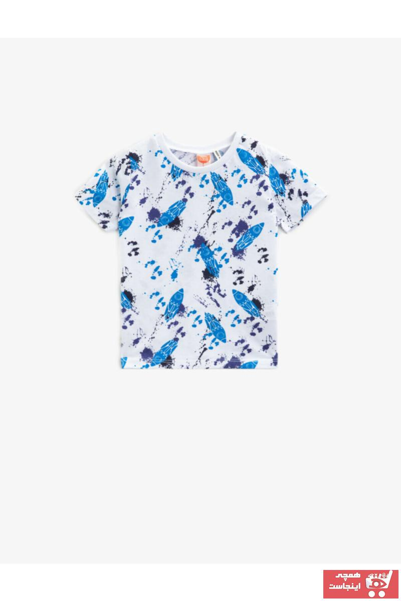 تیشرت زیبا برند Koton Kids رنگ بژ کد ty87006431