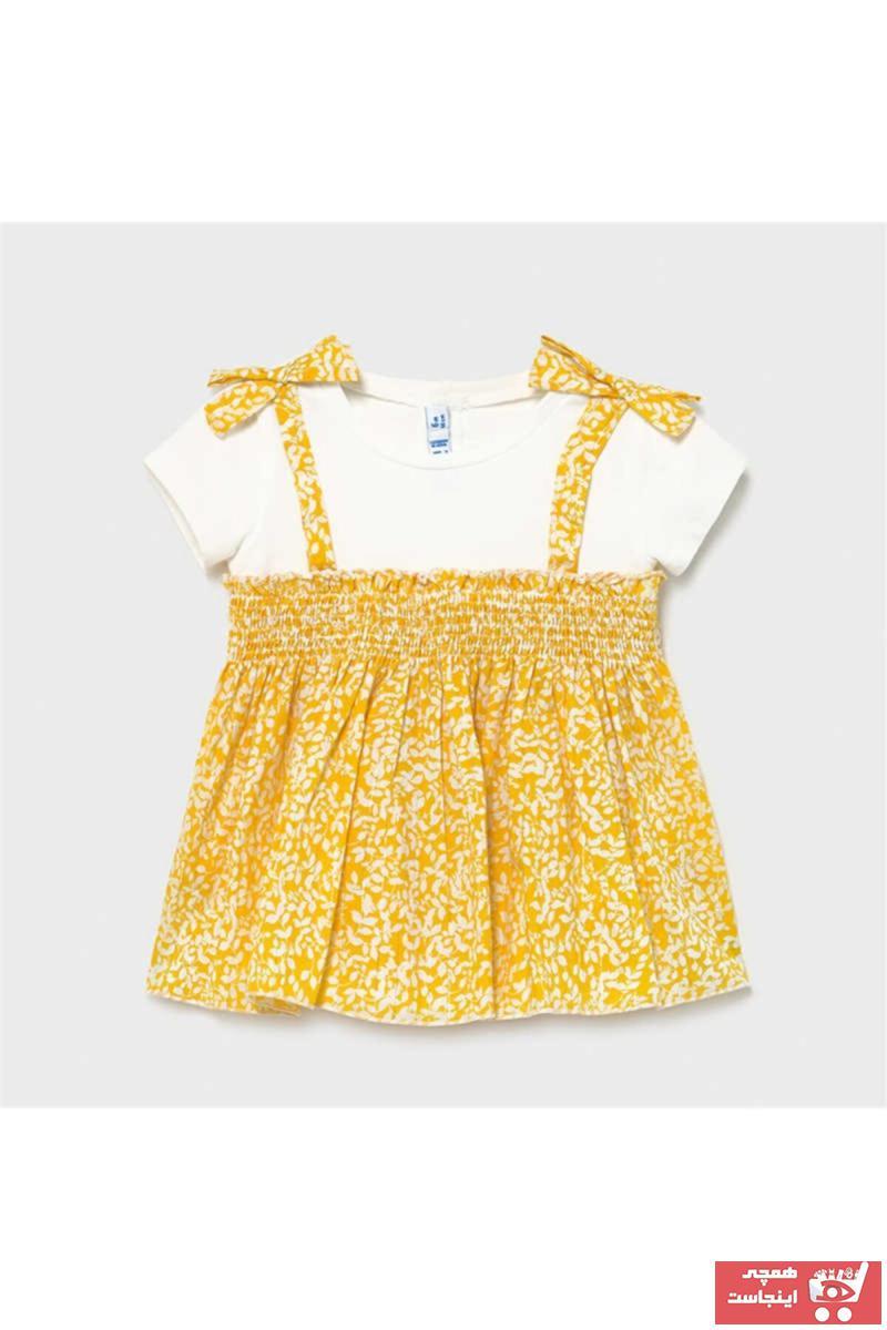 خرید  بلوز زیبا برند MAYORAL رنگ زرد ty94456737