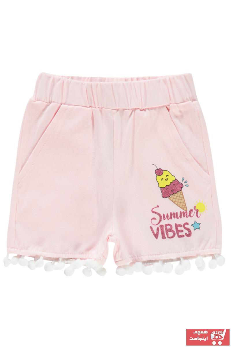 فروش اینترنتی شلوارک نوزاد دخترانه با قیمت برن Civil Baby رنگ صورتی ty98354016